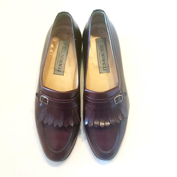 Men's Shoes Dress Shoes Bruno Magli Sz8 Black Loafers